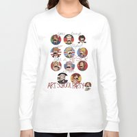 hetalia Long Sleeve T-shirts featuring Art School Party by invisibleinnocence