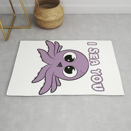 A cute and adorable gift this holiday! Will totally make your day and smile! I Sea You Octopus tee!  Rug