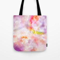 Abstract Magenta Cosmos Tote Bag