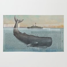 The whale Rug