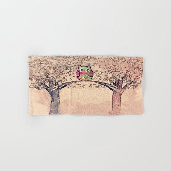 owl-942 Hand & Bath Towel