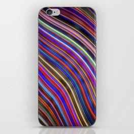 Wild Wavy Lines XVIII iPhone Skin