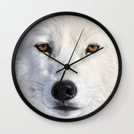 Up close and personal Wall Clock