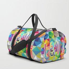 L O V E – Multicolor Duffle Bag