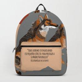 Wolves of the World: Iberian wolf (GREFA) Backpack