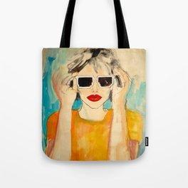 Pixel Sunglasses 01 Tote Bag