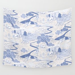 Mythical Creatures Toile Wall Tapestry