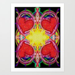 Sun Of Hearts Art Print