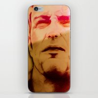 twins iPhone & iPod Skins featuring Twins by Nuam