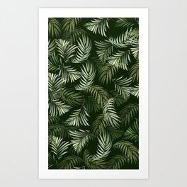 Calm Palm Art Print