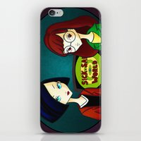 daria iPhone & iPod Skins featuring Daria by Paz Huichaman