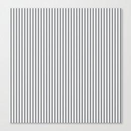 Sharkskin Stripes Canvas Print