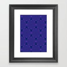 Dizzy Circles Framed Art Print