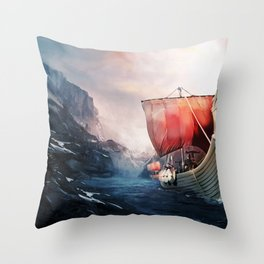 Vikings Throw Pillow