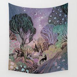 The Forgotten Garden Wall Tapestry