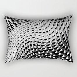Wall Waves Rectangular Pillow