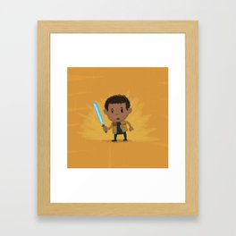 Li'l Finn Framed Art Print
