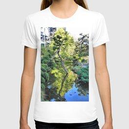Japanese Tea Garden Lake T-shirt
