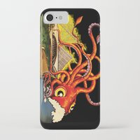 milwaukee iPhone & iPod Cases featuring MILWAUKEE: What's Kraken, Milwaukee? by Amanda Iglinski