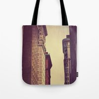 inception Tote Bags featuring Inception by Caleb Troy