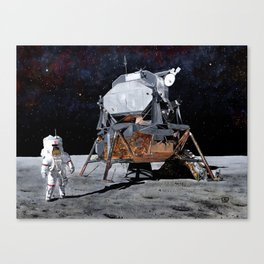 Orion is finally here Canvas Print
