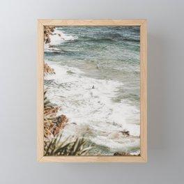 gold coast / australia Framed Mini Art Print