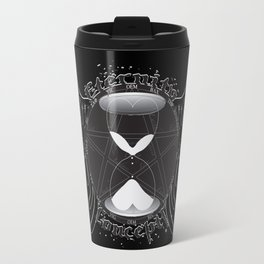 Eternity Concepts Logo (Black) Metal Travel Mug