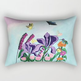 Garden of Heavenly Delight Rectangular Pillow
