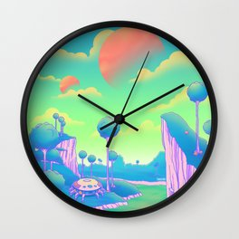 Planet Namek Wall Clock