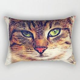 Cat Saba Rectangular Pillow