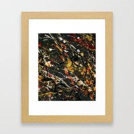 Jackson Pollock Interpretation 2017 Framed Art Print