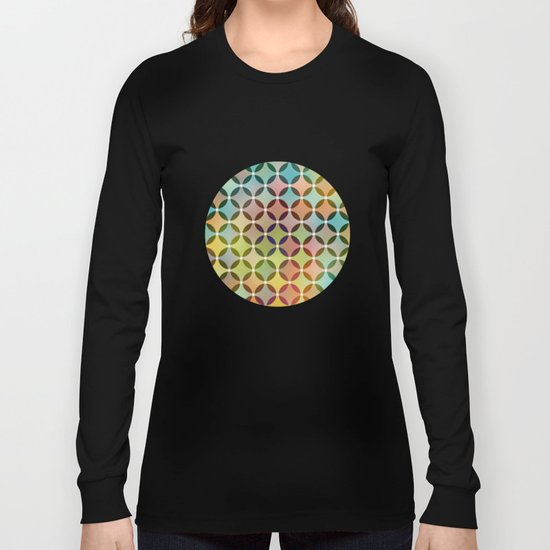Dots in Dots Long Sleeve T-shirt