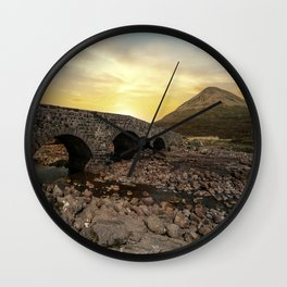 Sligachan Bridge Wall Clock