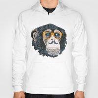 monkey Hoodies featuring Monkey! by  Steve Wade ( Swade)
