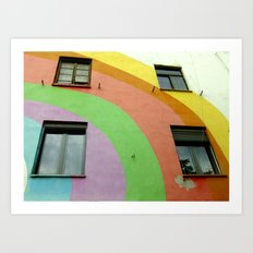 Tirana Bright City Art Print