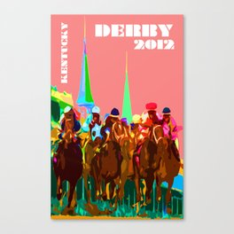 Glory of Kentucky Derby Canvas Print