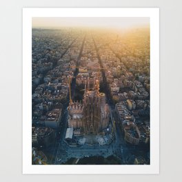 La Sagrada Familia - Barcelona, Spain Art Print