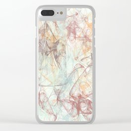 Pattern 68 Clear iPhone Case