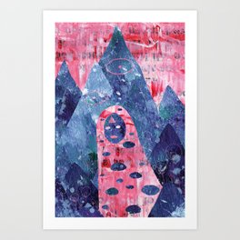 Bliss Girl Out and About Art Print