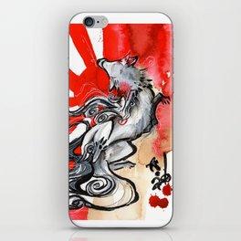 OKAMI iPhone Skin