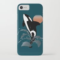 orca iPhone & iPod Cases featuring Orca by VanessaGF