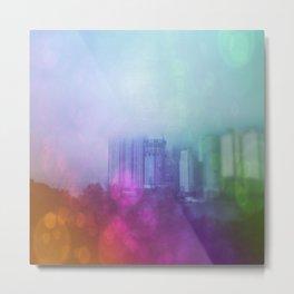 Busan Fog Metal Print