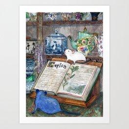 Ceylon & Lily Art Print