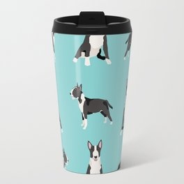 Bull Terrier dog breed pet friendly gifts terriers bull terriers Travel Mug