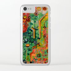 Interconnectedness Clear iPhone Case