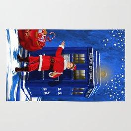 10th Doctor who Santa claus Rug