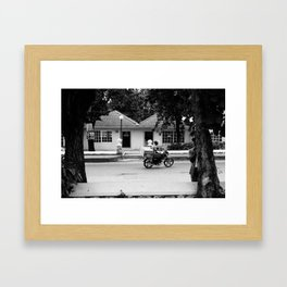 0004 Framed Art Print