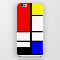 Mondrian iPhone & iPod Skin