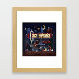 Vania Castle Framed Art Print