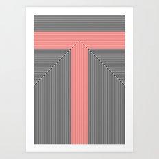 T like T Art Print